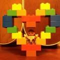 レゴのアイデア ハート