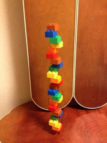 レゴのアイデア らせん