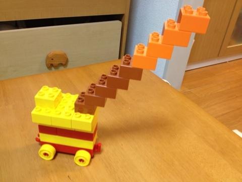 レゴのアイデア はしご車
