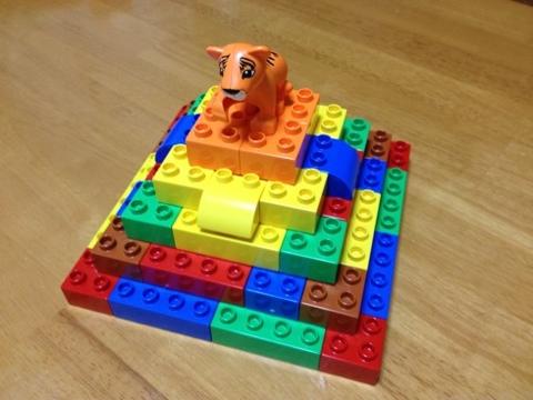 レゴのアイデア スフィンクスとピラミッド