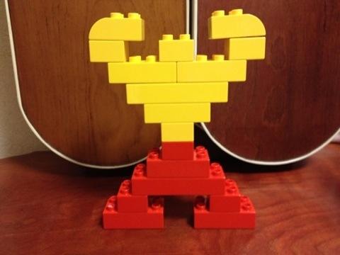 簡単なレゴ マッスルマン