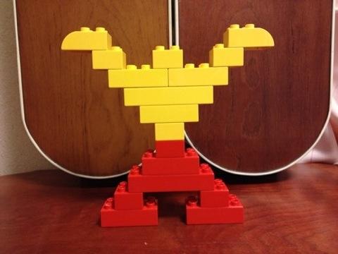 簡単なレゴ カンフーマン