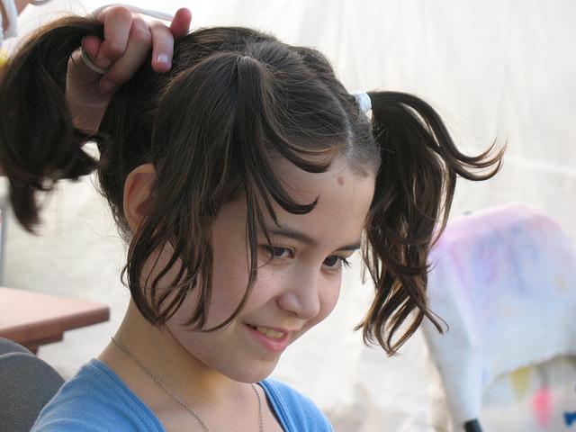 女の子の髪形