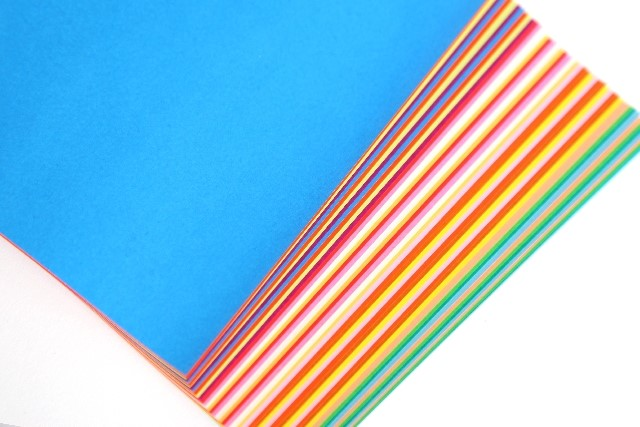 子供と折り紙