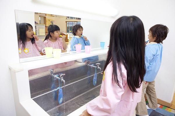 歯磨きトレーニング