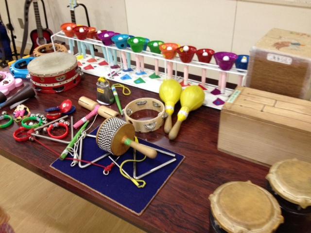 音楽室楽器
