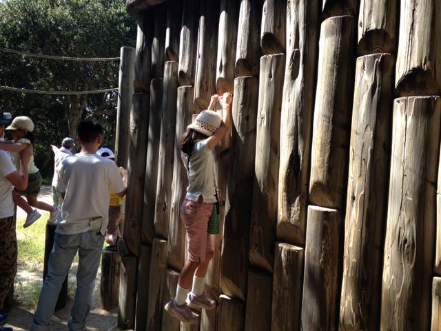須磨離宮公園 子供の森遊具2
