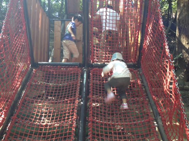 須磨離宮公園 子供の森の遊具3