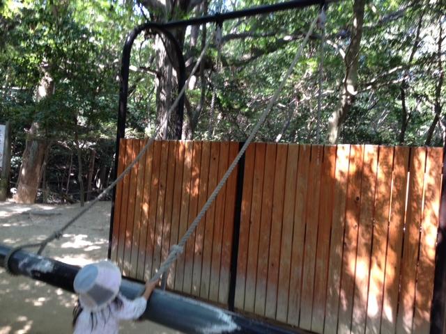 須磨離宮公園 子供の森の遊具5