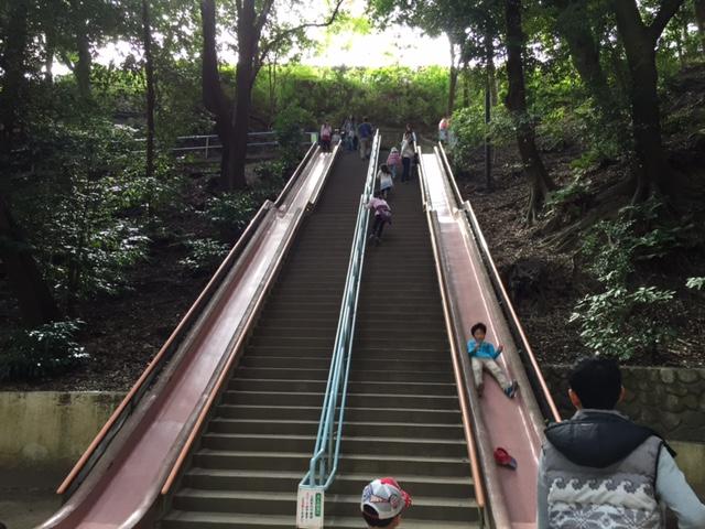 須磨離宮公園ジャンボすべり台