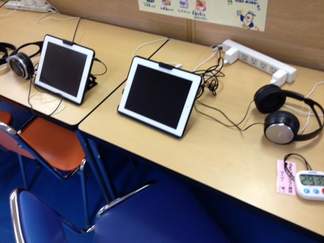 図書室iPad