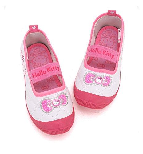 ハローキティ 上履き ルームシューズ 子供用 キッズ 靴 サンリオ hello-kitty kids room shoes sanrio 公式ライセンス商品 356 (18cm)