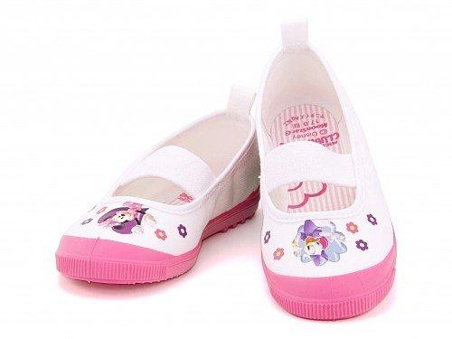 [ディズニー] Disney 女の子 男の子 キッズ 子供靴 上履き スニーカー バレーシューズ DN08