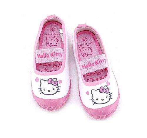 ハローキティ 上履き ルームシューズ 冬用 子供用 キッズ 靴 サンリオ hello-kitty kids room shoes sanrio 公式ライセンス商品 354 (24cm)