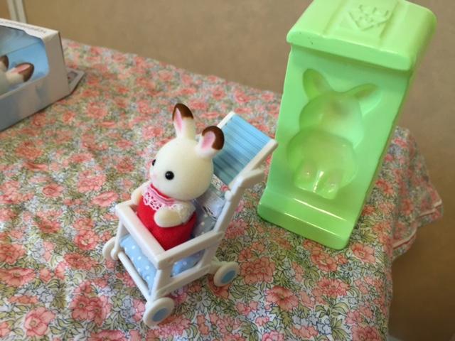 シルバニアファミリー赤ちゃん人形ベビーカー