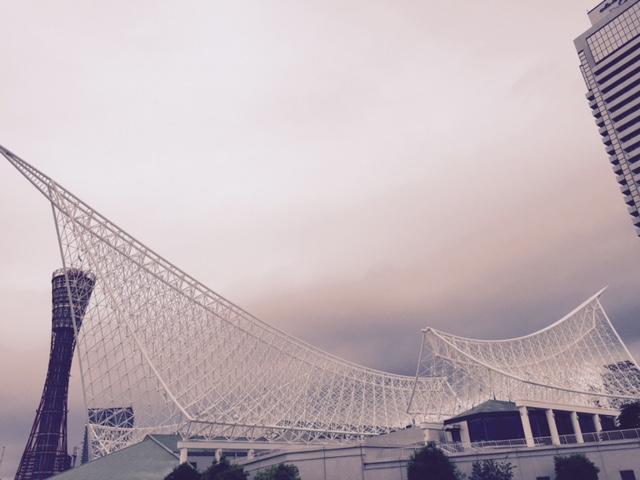 神戸海洋博物館・カワサキワールド外観