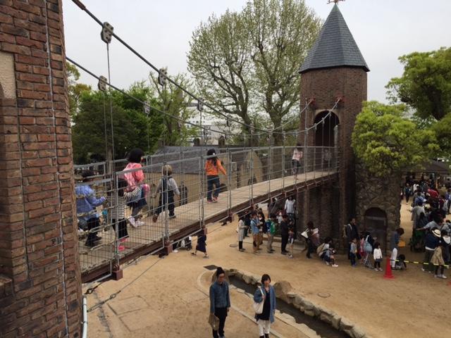 王子動物園吊り橋