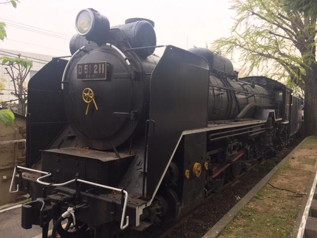 王子動物園蒸気機関車