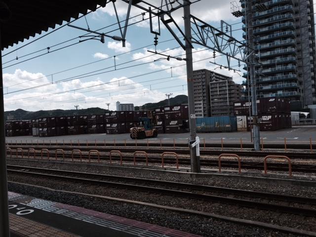 鷹取駅 貨物