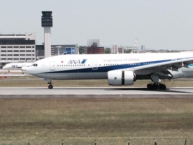 伊丹スカイパーク飛行機