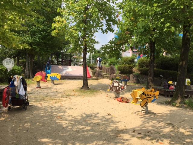 西猪名公園ウォーターランド 遊び場