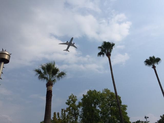 西猪名公園ウォーターランド 飛行機