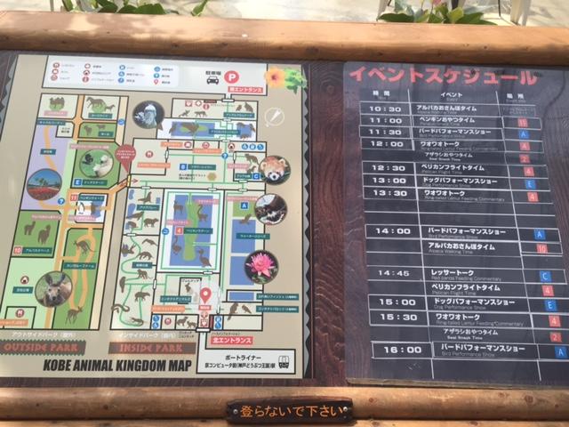 神戸どうぶつ王国 全体図