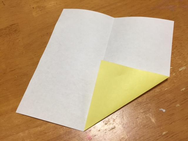 折り紙へそ飛行機の折り方