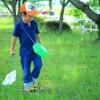 子供と川遊び①虫取り網で小魚って捕まえられる?