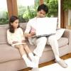 家ではパソコンより子供と向き合う時間を大切に